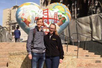 Rebecca en Emiel San Francisco